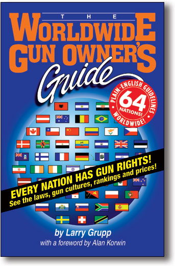 Worldwide Gun Owner's Guide book cover