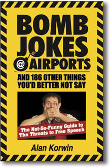 Bomb Jokes at Airports book cover